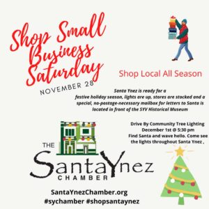 Small Shop Business Saturday